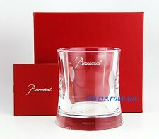 BACCARAT TRANQUILITY CLEAR HEAVY CRYSTAL PEN HOLDER NEW MADE IN FRANCE BOX