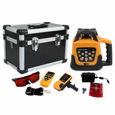 Self Leveling Degree 360 Rotary Rotating Red Laser Level Withcase Tool Kit Ip 54
