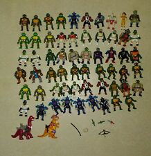 teenage mutant ninja turtles playset tmnt vintage micro mini huge lot rare