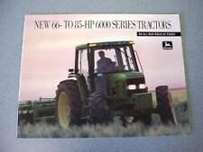 John Deere 6200 6300 6400 Tractor Brochure 24 Pages