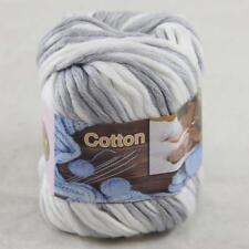 Sale 1Ball x50g Super Soft Cotton Chunky 16 Ply DIY Hand Wrap Shawl Knit Yarn 44