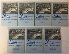 Dealers Lot of 7 John Richard Corbett SHIPS BY THE NAME OF NORTH CAROLINA~SIGNED