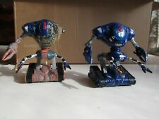 Lost In Space 1998 Film Robot and Battle Ravaged Robot Figures