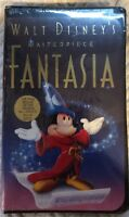 DISNEY MASTERPIECE FANTASIA FINAL RELEASE VHS COLLECTOR NEW SEALED Mickey Mouse
