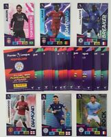 2020/21 PANINI Adrenalyn EPL Soccer Cards - Lot of 50 cards incl 6 shiny (no dbl