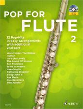 Pop for Flute Band 2 für 1-2 Querflöte(n) Noten mit CD