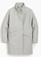 $350-J.Crew Cocoon coat in Italian stadium-cloth wool-G9236/G9237/G8447