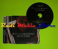 CD Singolo JAY-Z feat BLACKSTREET The city is mine 1998 Eu BMG    mc dvd (S8)