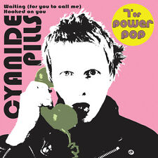 """CYANIDE PILLS 'Waiting (for you to call me)' 7"""" White vinyl ltd die cut sleeve"""