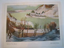 """BRUCE MITCHELL """"AROUND THE BEND"""" GREETING CARD NO. 25106 -  TUB Q"""