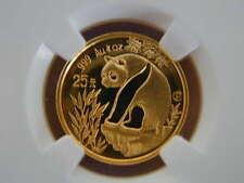China 1993 1/4 oz Gold 25 Yuan Proof Panda - NGC PF68UC