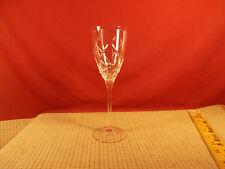 "Rogaska Crystal Cut Crossing Arches Design Wine Goblet 8 1/2"""