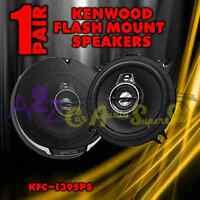 2 NEW KENWOOD KFC-1395PS 320W PERFORMANCE 5-1/4 3-WAY ROUND CAR STEREO SPEAKERS