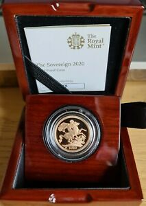 2020 Gold Proof Sovereign
