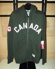 London 2012 Olympic Team CANADA HBC green CANADA Hoodie mens size Large NWT
