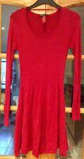 Vestido rojo fiesta O Casual Para Damas Mujeres adolescente Girl's Ropa Talla 8