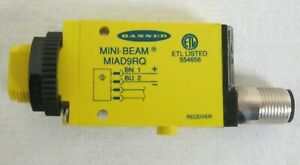 BANNER MIAD9RQ (40146) MINI-BEAM PHOTO-ELECTRIC SENSOR - Unused, Unboxed