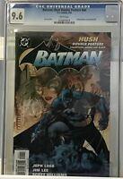 BATMAN: HUSH DOUBLE FEATURE #NN CGC 9.6 NM+ REP. 608 609 JIM LEE DC COMICS