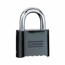 Master Locks 178D Combination Solid Body Padlock - Black