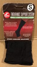 Cramer Endurance Support System Ankle Compression Sleeve, Small, Black