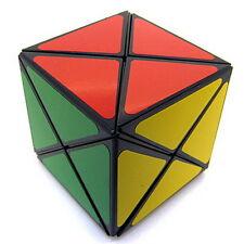 Black MF8 + Smaz Dino Cube Plastic Magic Cube Twist Puzzle Brainteaser Toy
