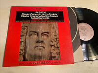 JS Bach Concertos Mindru Katz Pro Art Orch LP Vanguard Everyman STEREO VG+