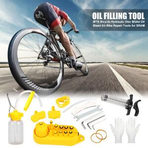 MTB Bicycle Hydraulic Disc Brake Oil Bleed Kit Bike Repair Tools for SRAM