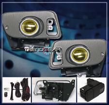 1992 1993 1994 1995 HONDA CIVIC EX SI VX 2/3DR BUMPER YELLOW PROJECTOR FOG LIGHT