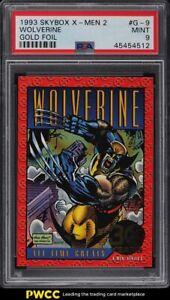 1993 Skybox X-Men 2 Gold Foil Wolverine #G-9 PSA 9 MINT