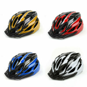 Mens Adult Street Bike Bicycle Cycling Safety Carbon Helmet 54-60 cm With Visor
