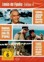 DVD-BOX - Louis de Funes - Edition 4 - Balduin der Heiratsmuffel u.a. - 3 Filme