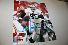 OAKLAND/LA RAIDERS GREG TOWNSEND #93 SIGNED 8X10 PHOTO SB XVIII CHAMPS POSE 3