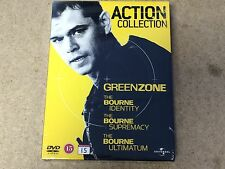 NEW SEALED DVD Films * ACTION COLLECTION GREENZONE / BOURNES * BOURNE IDENTITY