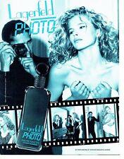 Publicité Advertising  0817  1993  Karl Lagerfeld  eau toilette homme Photo