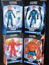 Marvel Legends Walgreens Thing Mr. Fantastic Invisible Woman Human Torch figures
