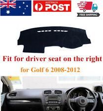 RHD Dash Mat Dash Cover Dashboard No Slips For VW Volkswagen Golf 6 2008-2012