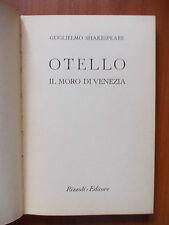 OTELLO IL MORO DI VENEZIA - Guglielmo Shakespeare 1949