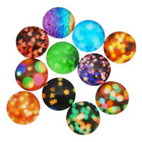 50PCS/lot Colorful Glass Cabs Flat Back Decor Ornament Jewelry DIY Accessories