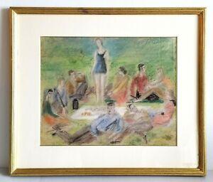 Original Painting Alexis Paul Arapoff Russian/American ( 1904 - 1948 )