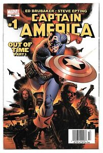 **Captain America # 1,2,3,5** KEY! 2005! 1st APPEARANCE WINTER SOLDIER! FALCON &
