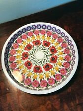 More details for emma bridgewater flowers tray deepwell metal used discontinued collectable