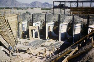 WELLTON MOHAWK CANAL CONSTRUCTION 35MM SLIDE (CIRCA 1950`S) LOT L108
