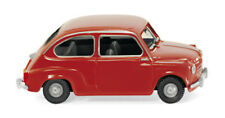 Wiking 009904 - 1/87 FIAT 600-ROSSO-NUOVO