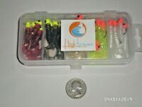 20 New, Mister Twister Style Jig kit,  1/8 ounce great for Crappie, Bass & Shad!