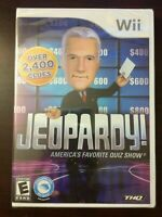 Jeopardy! America's Favorite Quiz Show NINTENDO Wii  2010 NEW Sealed Package