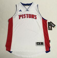 Detroit Pistons Official NBA Adidas Kids Youth Size Swingman Jersey New Tags