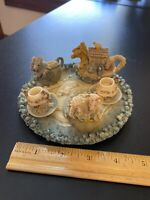 **Noah's Ark Tea Set ~ Vintage Noah's ark ~ Popular Imports Mini Tea Set 1994