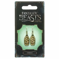 Find them Newt Scamander Logo Earrings Official Fantastic Beasts and Where to
