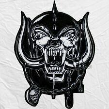 "Snaggletooth Warpig Motorhead Logo Embroidered Big Patch for Back 12"" Lemmy"