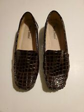 Pierre Dumas Women's Brown Hazel 7  Casual Flexsole Slip-On Loafers Size 7.5